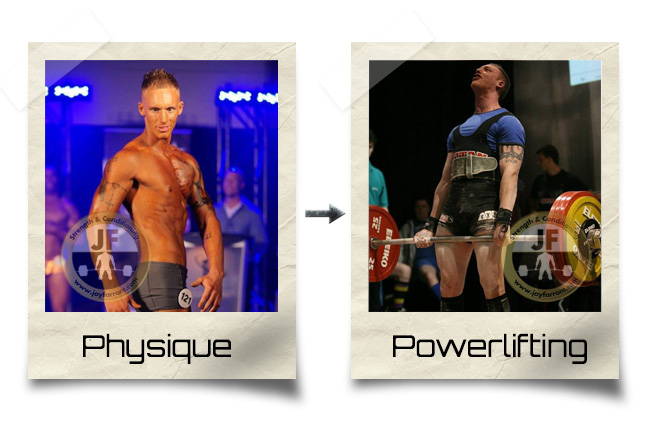 Powerlifting and Bodybuilding