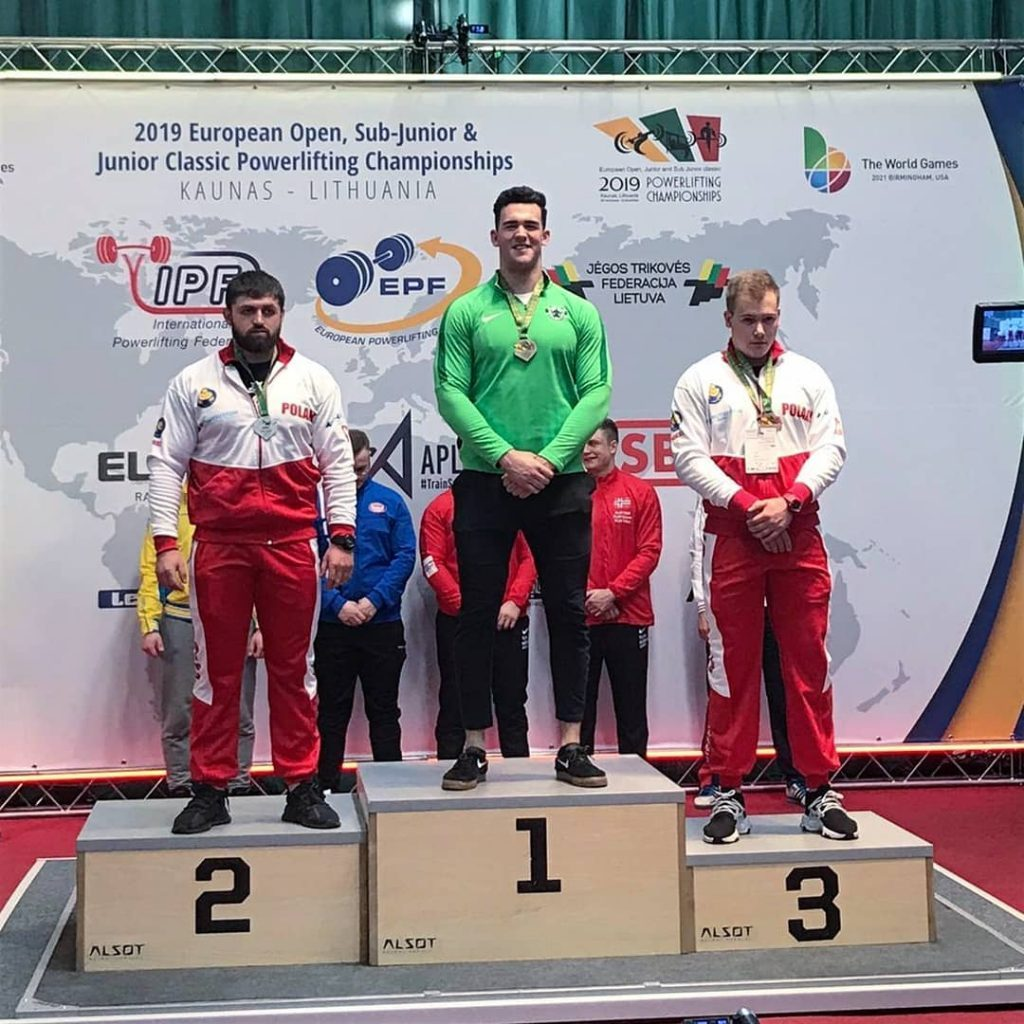 IPF Gold Medalist